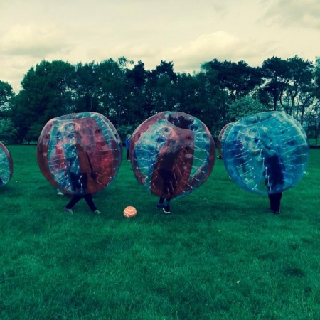 Bubble Football Macclesfield