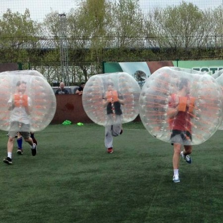 Bubble Football Halifax, West Yorkshire